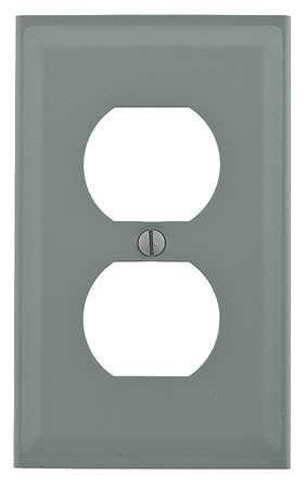 Single Receptacle Cover Ivory