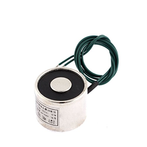 Uxcell a15012300ux0400 Electric Lifting Magnet Electromagnet Solenoid 25 x 20 mm  DC 12V 5 Kg