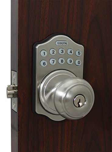 E-930-R-SC Electronic Knob Latch