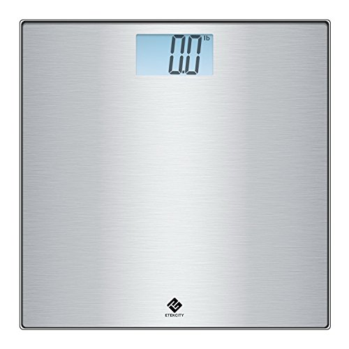 Etekcity Stainless Steel Digital Body Weight Bathroom Scale Step-On Technology 400 Pounds
