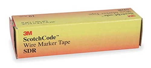 3M Sdr-0-9 Repl Marker Tapes - Package Qty 10