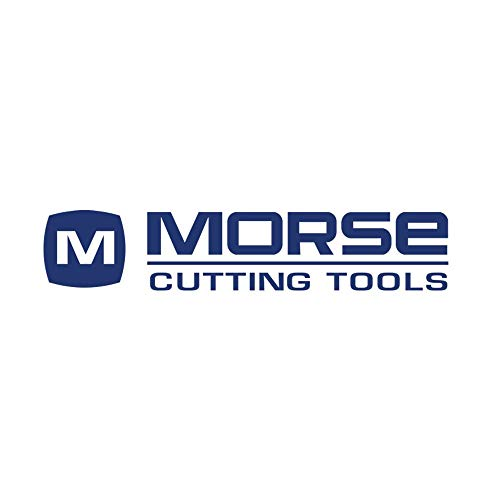 Morse Cutting Tools 57057 Stub Length Single End Mills Solid Carbide Bright Finish Center Cutting 30 degree Helix Angle 2 Flutes Ball Nose 18 x 18 Size