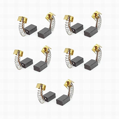 Ucland 5 Pair Motor CB64 Carbon Brushes 5x8x11mm for Makita Power Tools