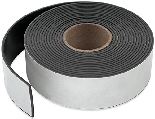 Master Magnetics ZG60A-A10BX Flexible Magnet Strip with Adhesive Back 116 Thick 1-12 Wide 10 1 Roll