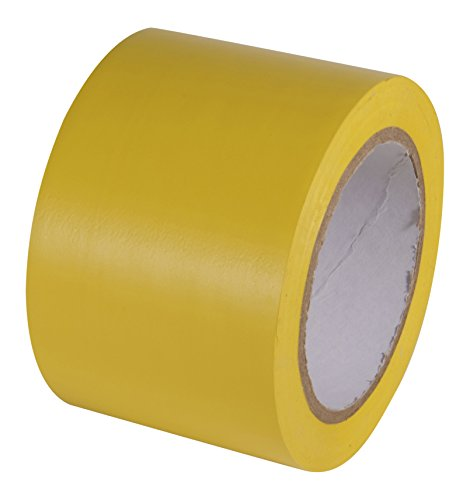 INCOM Manufacturing Aisle Marking Conformable Tape 3 x 108 Safety Yellow