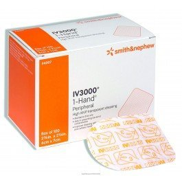 OpSite IV 3000 Dressing-Size 4 x 5 12 - Box of 50