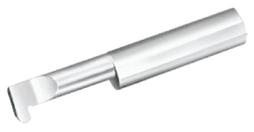 Micro 100 FR-030-8 Full Radius Grooving Tool 00300031 Groove Width 0050 Projection 0250 Minimum Bore Diameter 0500 Maximum Bore Depth 0250 Shank Diameter 25 Overall Length Solid Carbide Tool
