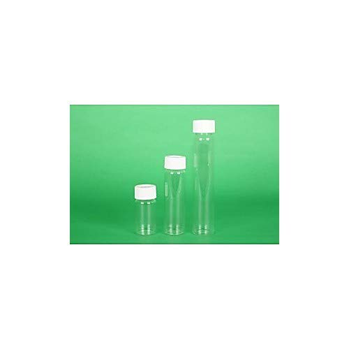 Greenwood Products 03-40BTS723 40mL Clear VOA Vial Assembled wOpen Top Bonded TS Septa Heavy Cap Certified 72cs