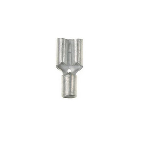 Panduit DM6-63-L Female Disconnect Non-Insulated Metal Sleeve Metric 40 - 60mm Wire Range 63 x 08mm Tab Size 76mm Width 3mm Height 182mm Length Pack of 50