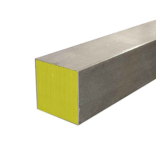 Online Metal Supply 316 Stainless Steel Square Bar 78 x 78 x 72 long