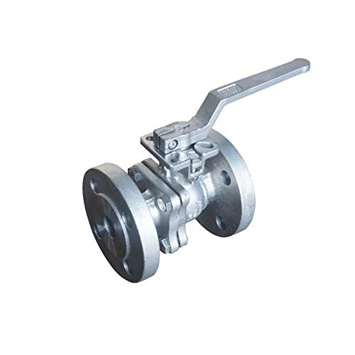 2 PN1016 Flange End Ball Valve Stainless Steel 316 with ISO Mounting Pad Fire Safe Design