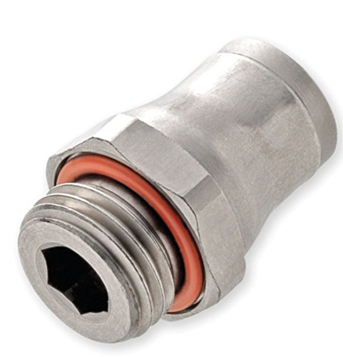 Legris 3601 04 13 6mm Tube x BSPP Nickel Brass Male Connector