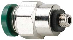 PARKER 68PLP-4-0 BRASS MALE CONNECTOR ADAPTER 14X10-32IN FITTING
