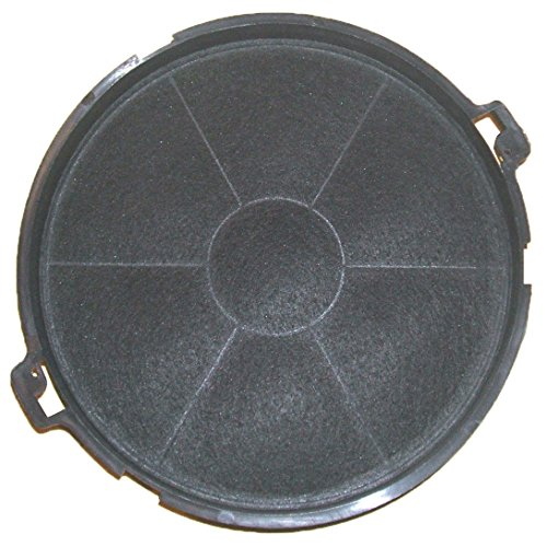 Spares2go Type IS30GR Charcoal Carbon Vent Filter For Beko CH60 H60PX Cooker Hood 190 mm x 40 mm