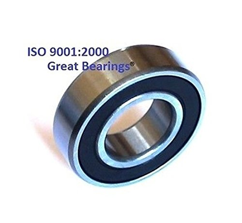 Qty10 6001-2RS two side rubber seals bearing 6001-rs ball bearings 6001 rs