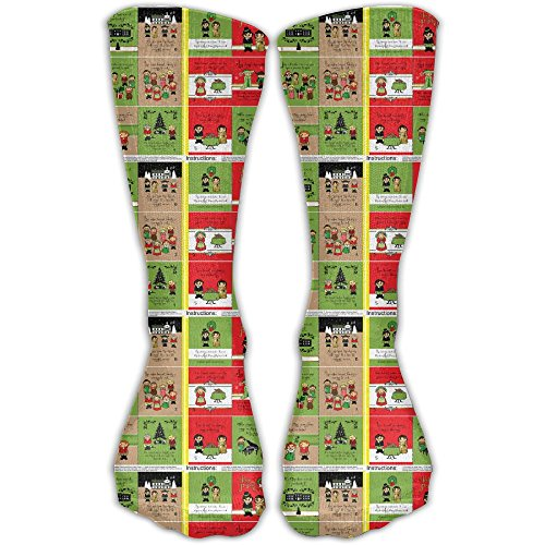 A Pride And Prejudice Christmas Cloth Quiet Fabric Book Graduated Compression Socks For Women And Men - Best Medical Nursing Travel Running Fitness