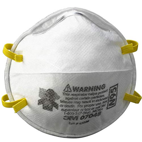 3M N95 Mask Performance Respirator 8210 20 Safety Respirator Particle Masks