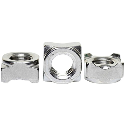 A2 Stainless Steel Square Weld Nuts DIN 928 M6 - 75 Pack
